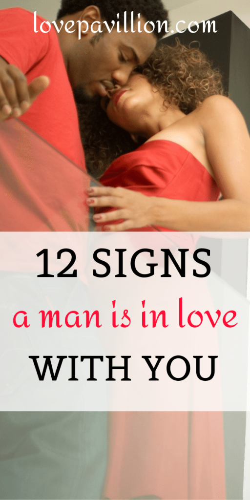 signs a man is in love