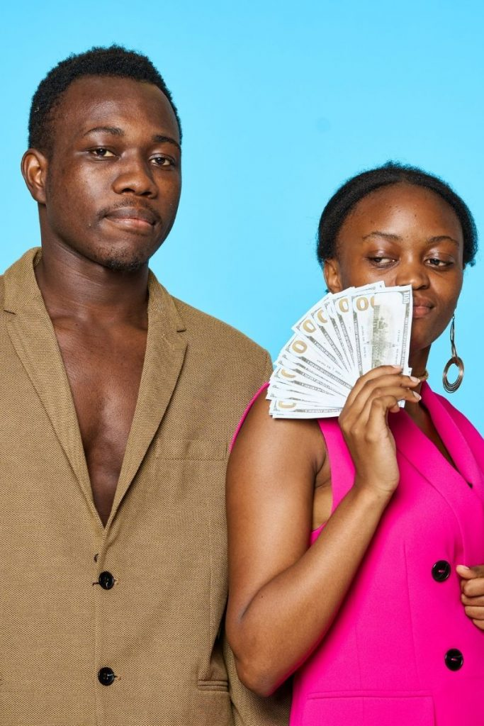 signs he is using you for money